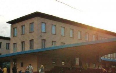 В Киеве горело здание Центрального автовокзала - «Украина»