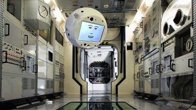 """Прилетевший на МКС космический робот """"Саймон"""" начал помогать экипажу - РИА Новости, 09.07.2018 - «Космос»"""