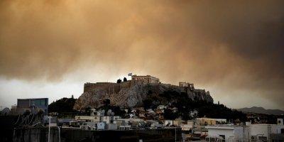 Жертвами лесных пожаров в Греции стали 50 человек