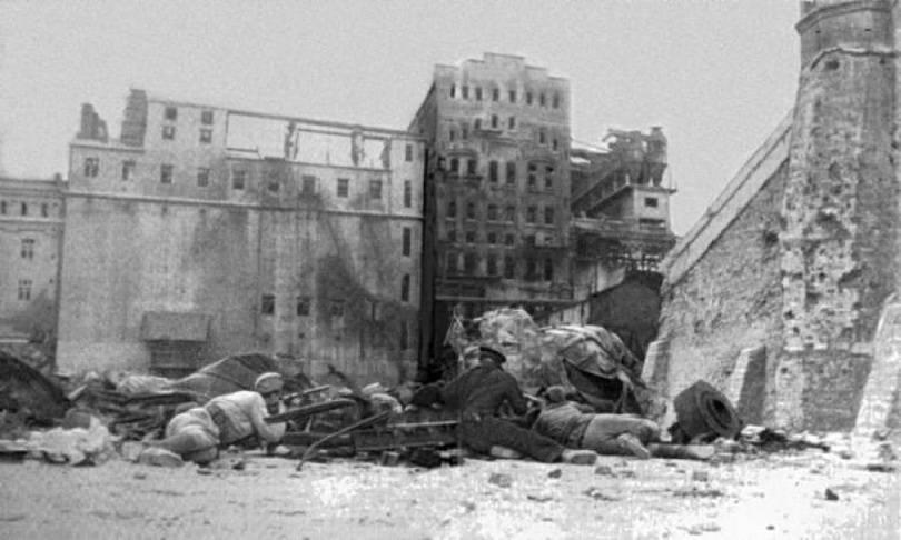 Элеваторе во время войны конвейер вазов