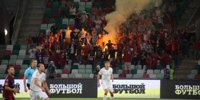 Белорусские болельщики поддержали сборную кричалкой про москалей с Майдана