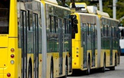 В центре Киева изменят расписание движения общественного транспорта - «Украина»