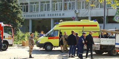 В Керчи произошел взрыв в политехническом колледже: 10 погибших, 50 пострадавших