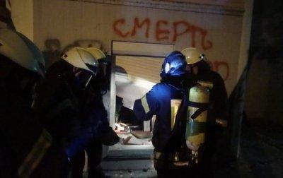 В Киеве правые атаковали офис Медведчука - (видео)