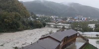 Видео дня: наводнение в Туапсе
