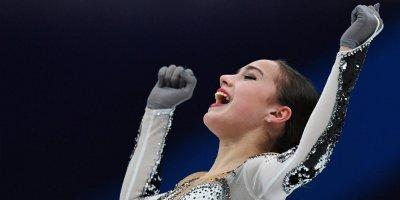 Загитова установила новый мировой рекорд в произвольной программе