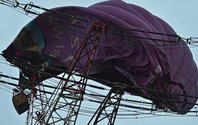 В Германии воздушный шар налетел на ЛЭП - (видео)
