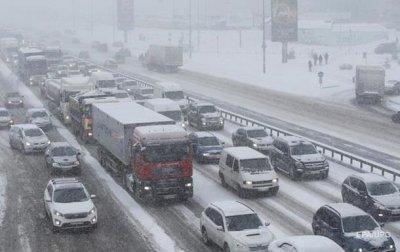 Киев остановился в пробках и тянучках - «Украина»