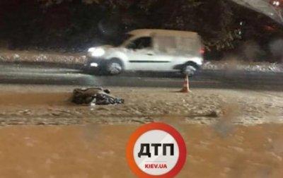 Под Киевом автомобиль насмерть сбил пешехода - «Украина»