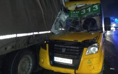 Под Киевом маршрутка с пассажирами протаранила грузовик - «Украина»