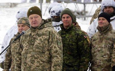 Порошенко взорвет Донбасс 14 декабря - «Военные действия»