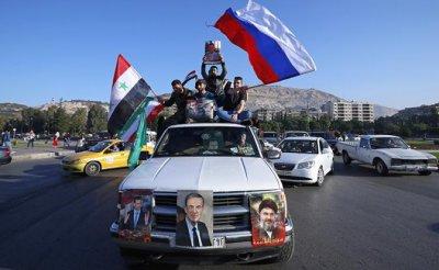 За Асада и Россию: Сирия восстала против США - «Военные действия»