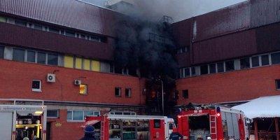 При пожаре в петербургской типографии погибли 3 человека