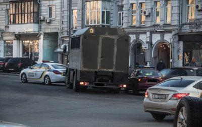 В Киеве МАЗ с нацгвардейцами столкнулся с авто - «Украина»