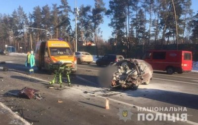 В Киеве три человека погибли в ДТП - «Украина»