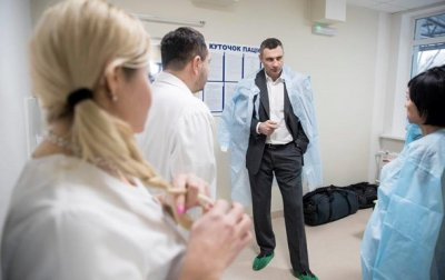 Кличко оконфузился, говоря о смертности в больницах - (видео)