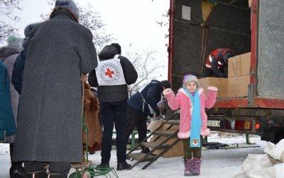 Красный Крест доставил в Донбасс 190 тонн гумпомощи - «Новороссия»