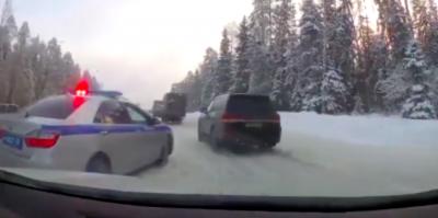 На видео попали опасные маневры кортежа губернатора Владимирской области