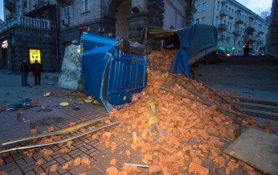 Полиция назвала причину ДТП с фурой в центре Киева - «Украина»