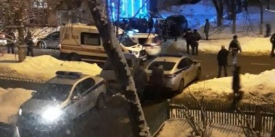 Появилось видео с места массовой драки со стрельбой в Москве