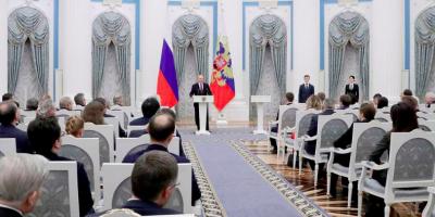 Путин вручил молодым ученым премии в области науки и инноваций