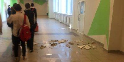 Снявшему потоп в новой школе ученику пригрозили 5-тысячным штрафом