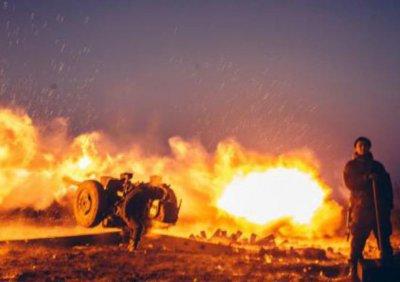 Украинские каратели всего за час выпустили по Донецку более 20 боеприпасов - «Новороссия»