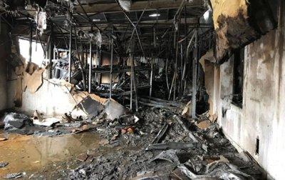 В Харькове произошел крупный пожар на складе - (видео)
