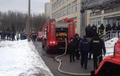 В Киеве эвакуировали университет из-за пожара - «Украина»