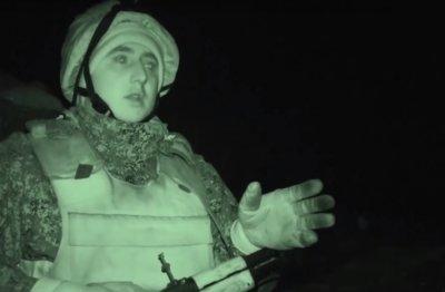 Военкоры зафиксировали на видео ночной обстрел ВСУ и работу БПЛА-корректировщика - «Новороссия»