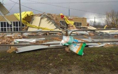 Апокалипсис. Черниговом пронесся сильный ураган - (видео)