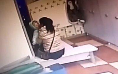 В садике под Киевом воспитательница издевалась над детьми - (видео)