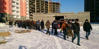 В Якутске гастарбайтеры не вышли на работу из-за страха за свою жизнь