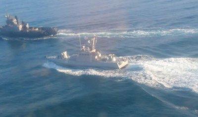 Задержанные в Керченском проливе украинские «новейшие» корабли оказались хрупкими и ржавыми - «Новороссия»
