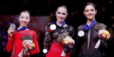 Загитова стала чемпионкой мира по фигурному катанию, Медведева — третья