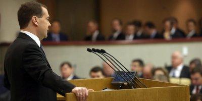 """""""Люди живут так, как не должны"""": Медведев рассказал депутатам о проблемах россиян"""