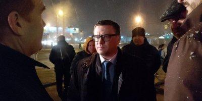 Текслер лично руководил ликвидацией прорыва теплосети в Челябинске