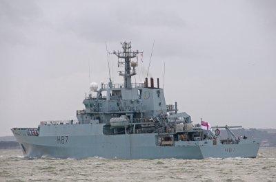 В акваторию Черного моря вошел британский разведывательный корабль - «Новороссия»