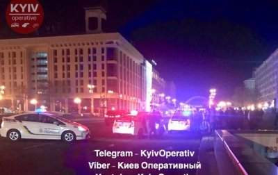 В центре Киева ранили полицейского и угнали авто - «Украина»