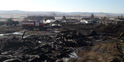 В Забайкалье из-за пожаров сгорели 109 домов