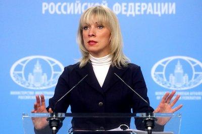 Захарова отказалась комментировать предвыборные заявления Порошенко и Зеленского - «Новороссия»