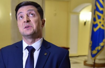 Зеленский представил свою команду в прямом эфире украинского ТВ - «Новороссия»