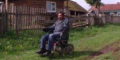 Башкирские чиновники оштрафовали инвалида без ног и с одной рукой за бурьян в огороде
