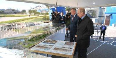 Беглов поддержал идею жителей Петербурга провести конкурса на освоение арт-парка