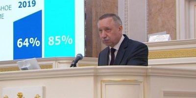 Беглов представил стратегию развития Петербурга