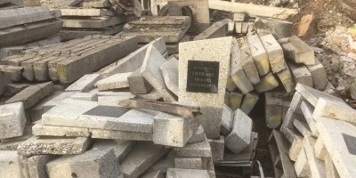 На мурманской свалке нашли надгробия с именами участников ВОВ