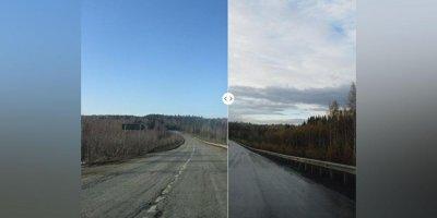"""Пермские чиновники """"отремонтировали"""" дороги в фоторедакторе"""
