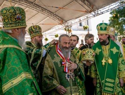 Главы 10 поместных православных церквей выразили поддержку предстоятелю УПЦ митрополиту Онуфрию - «Новороссия»