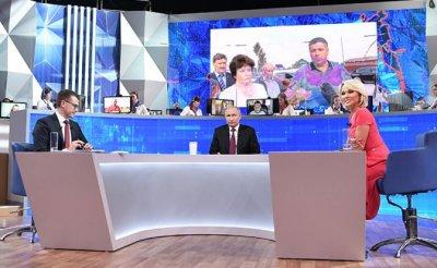 Как уровень общения Путина с народом уронили до сельской водоколонки - «Политика»