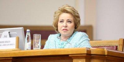 Матвиенко согласилась остаться сенатором в случае победы Беглова на выборах губернатора